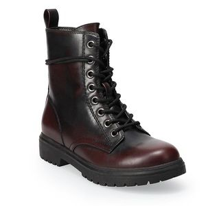NWT SO Bowfin Women's Size 8.5 Combat Boots